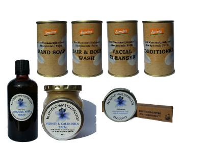 Bloublommetjieskloof body-care products